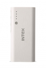 Intex IT-PB12.5K 12500mAH Power Bank (White-Grey)